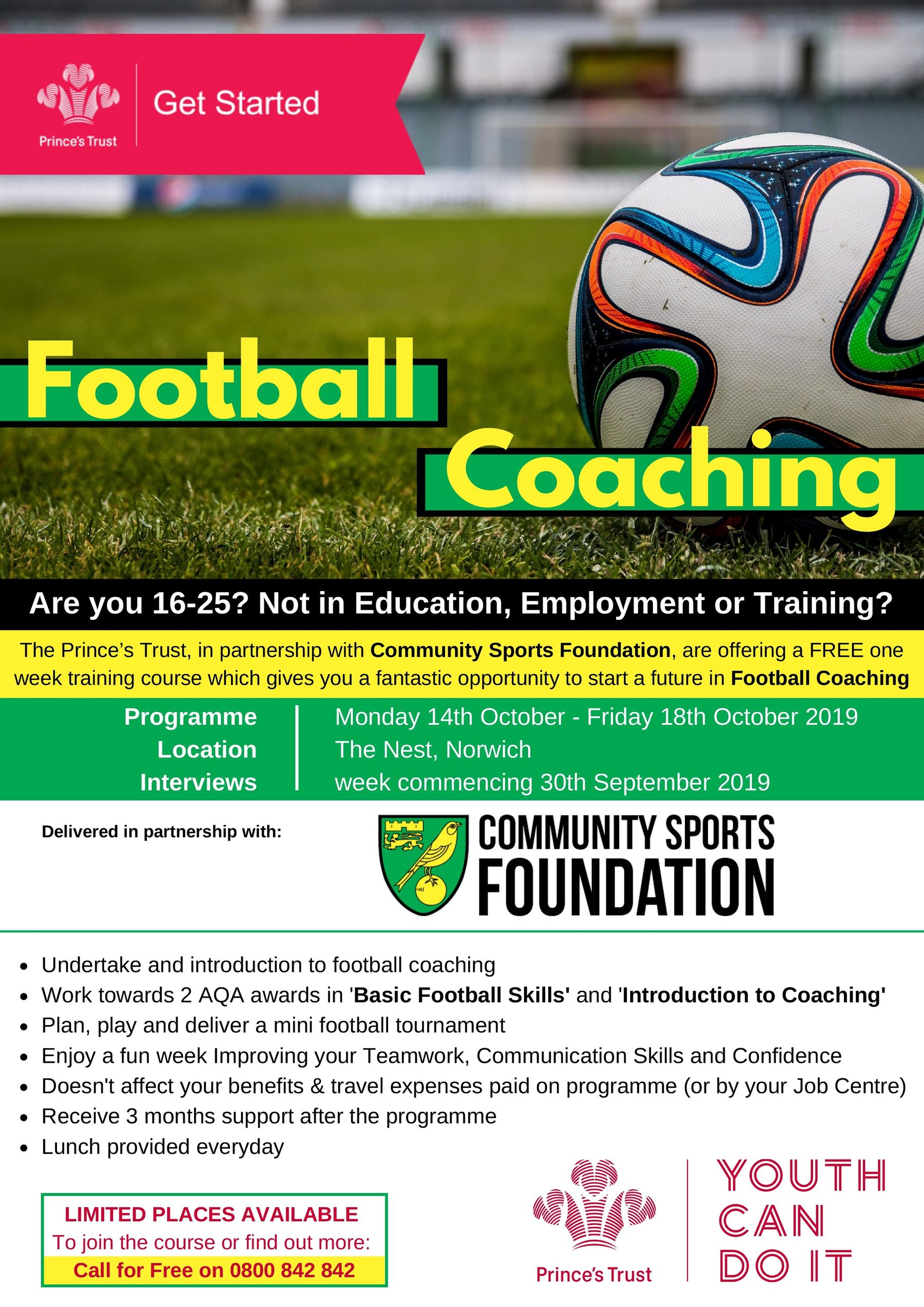 Prince's Trust : Get Started with Football Coaching
