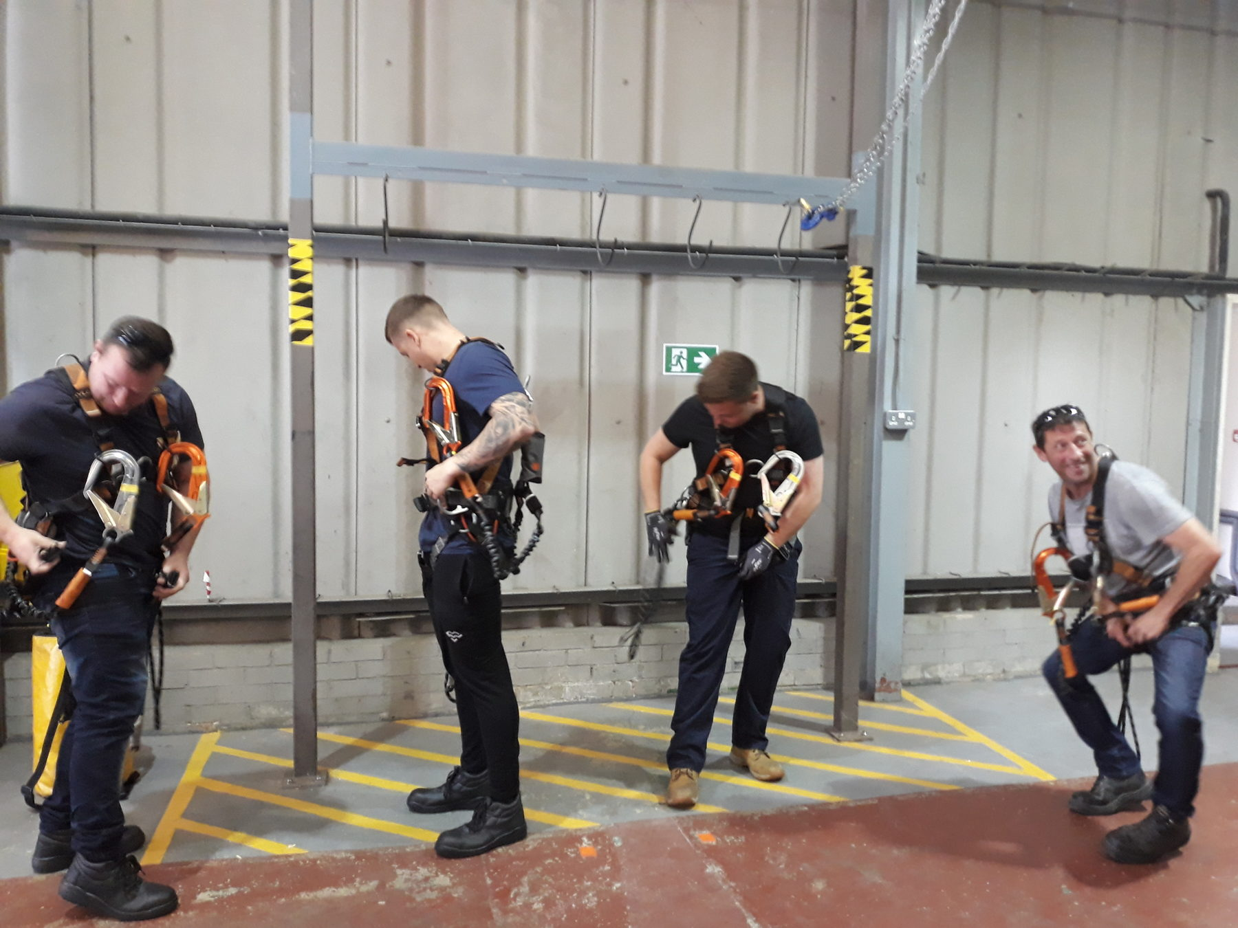 Organisation Image (Offshore Wind Skills Centre: Cohort 5 kitting up for First Aid at Height)