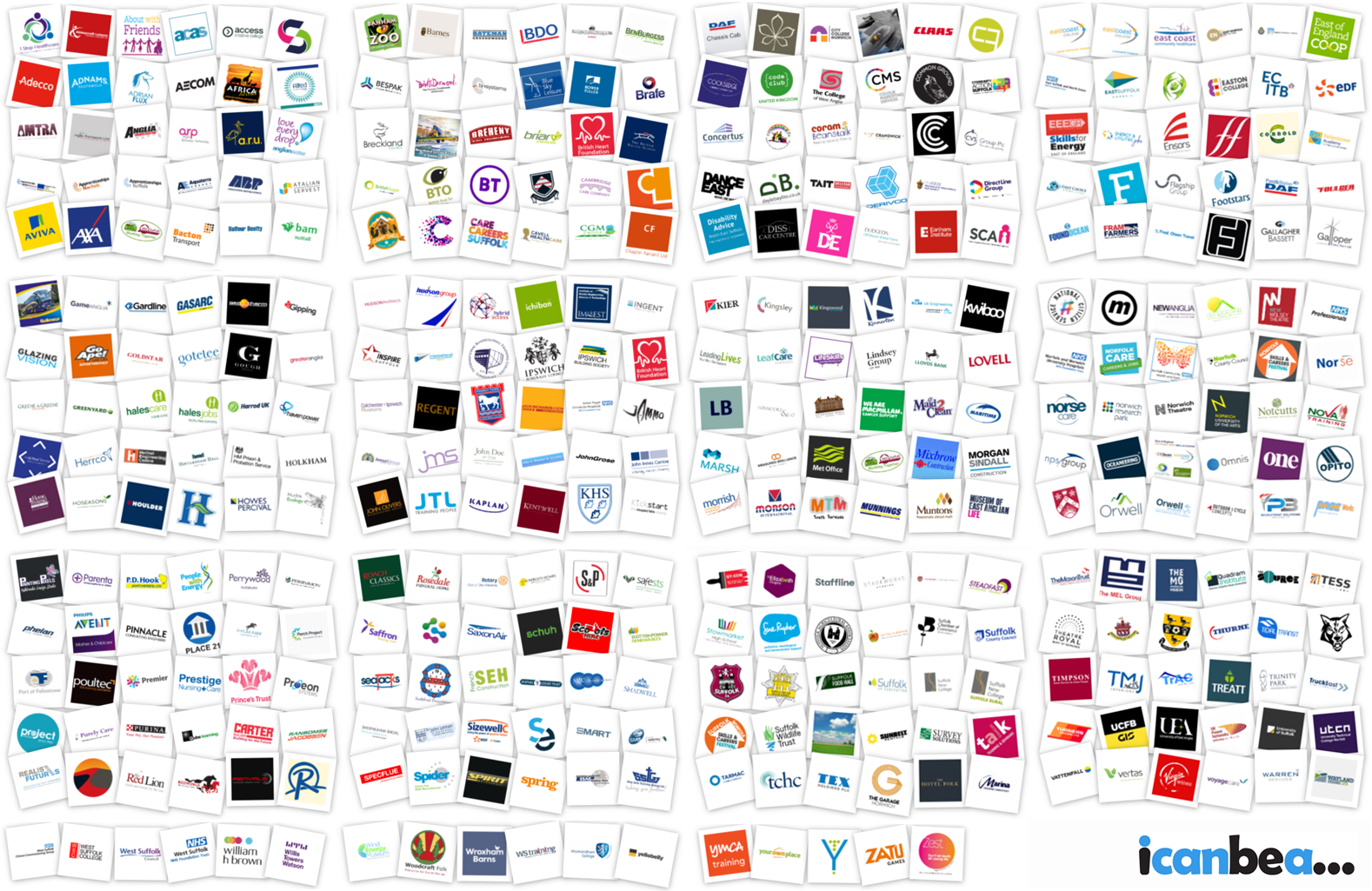 Photo Collage of icanbea... Organisations - up-to-date