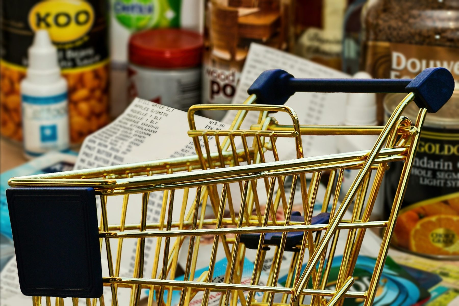 Site Image (Shopping Trolley, Shops, Supermarket, Food, Shelves, Stock)