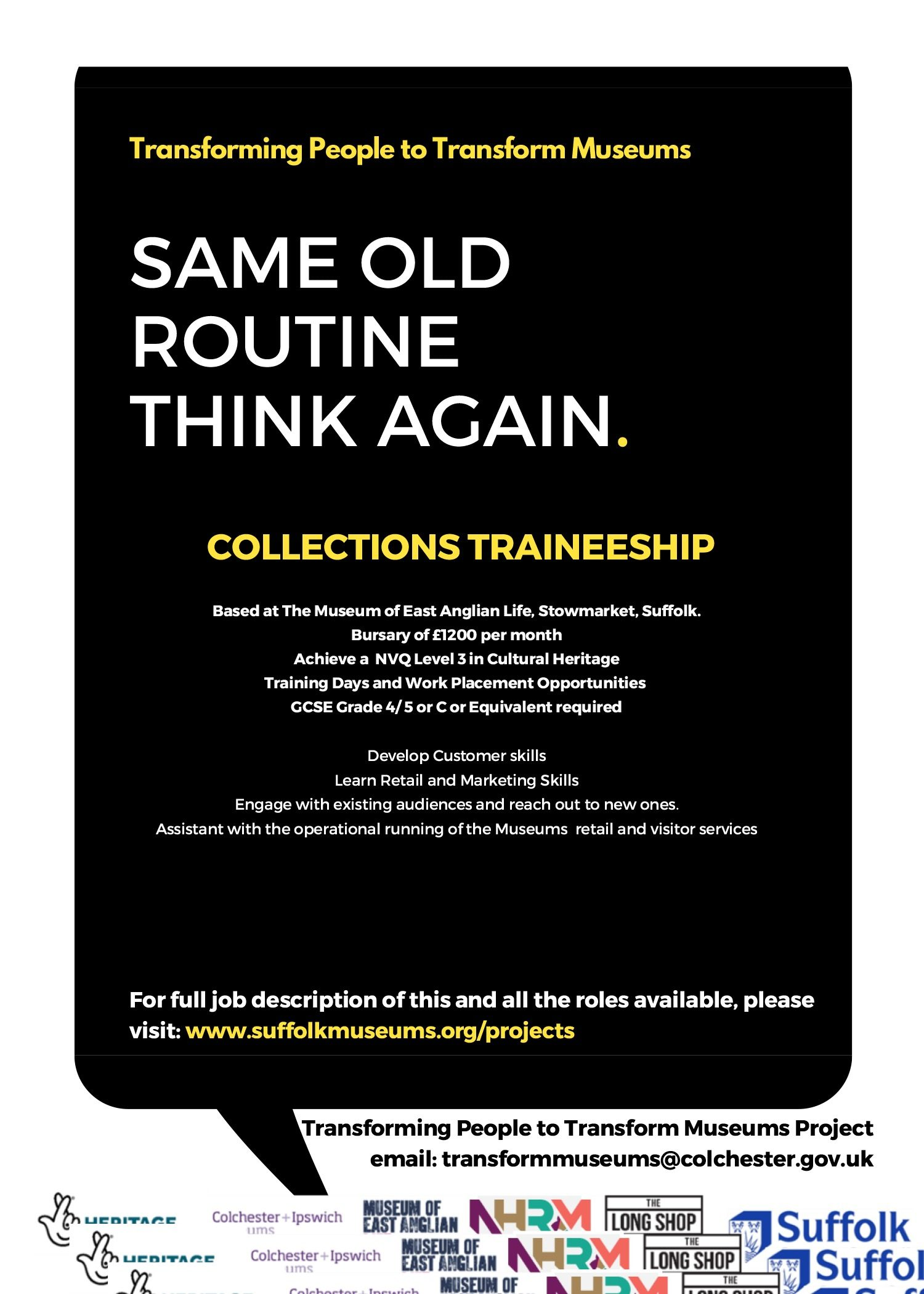 Collections Traineeship