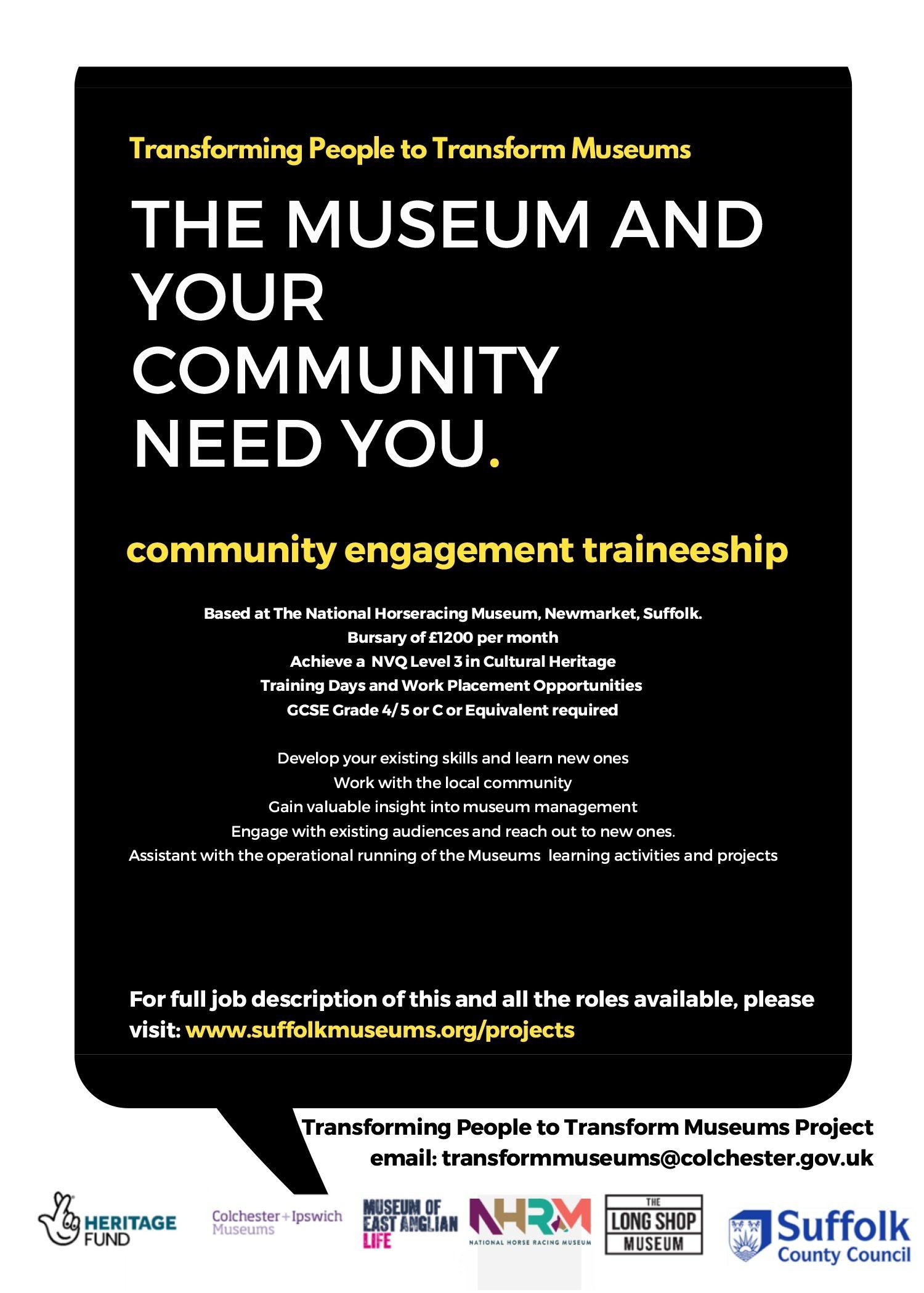 Community Engagement Traineeship