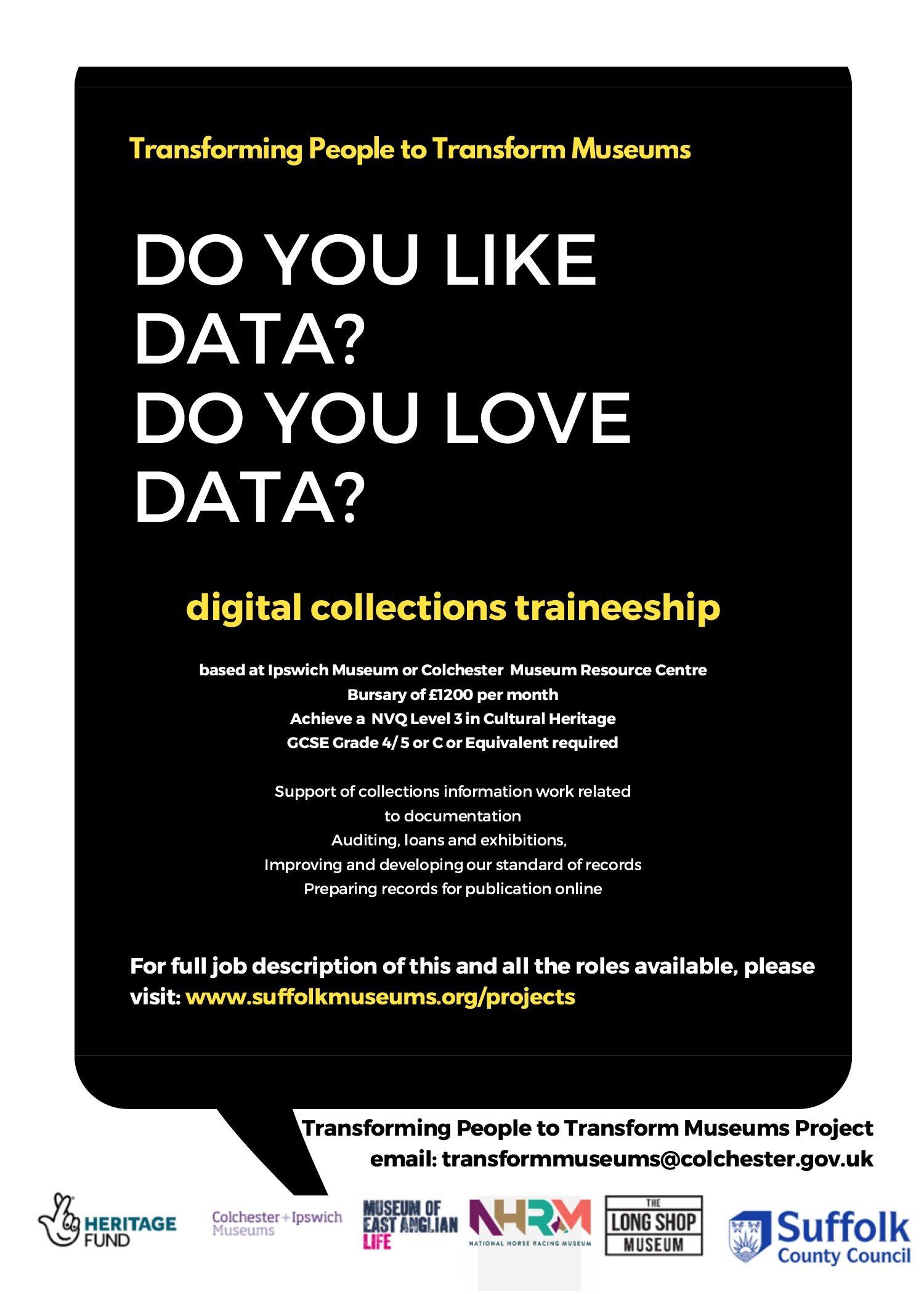 Digital Collections Traineeship