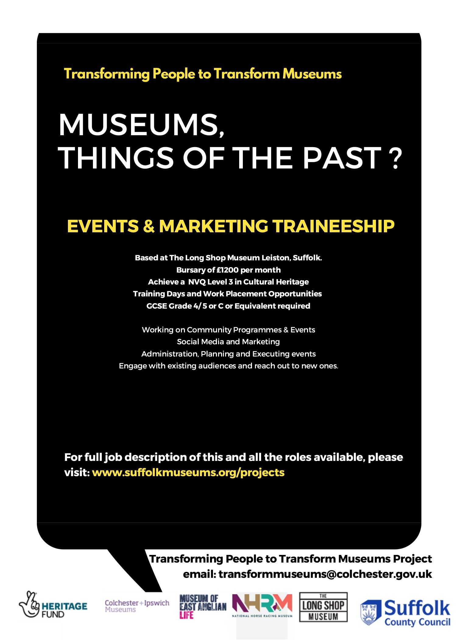 Events And Marketing Traineeship