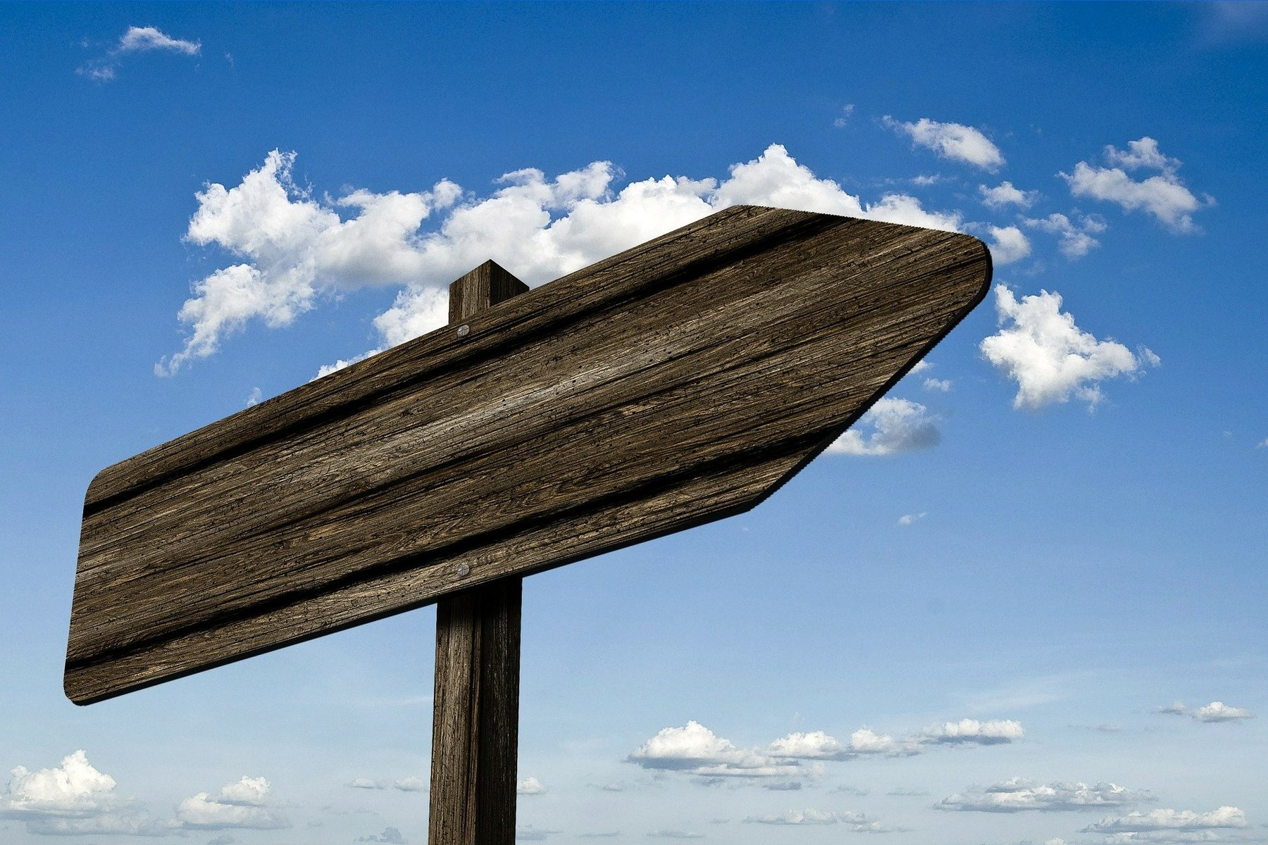 Site Image (Signpost: direction, choices)