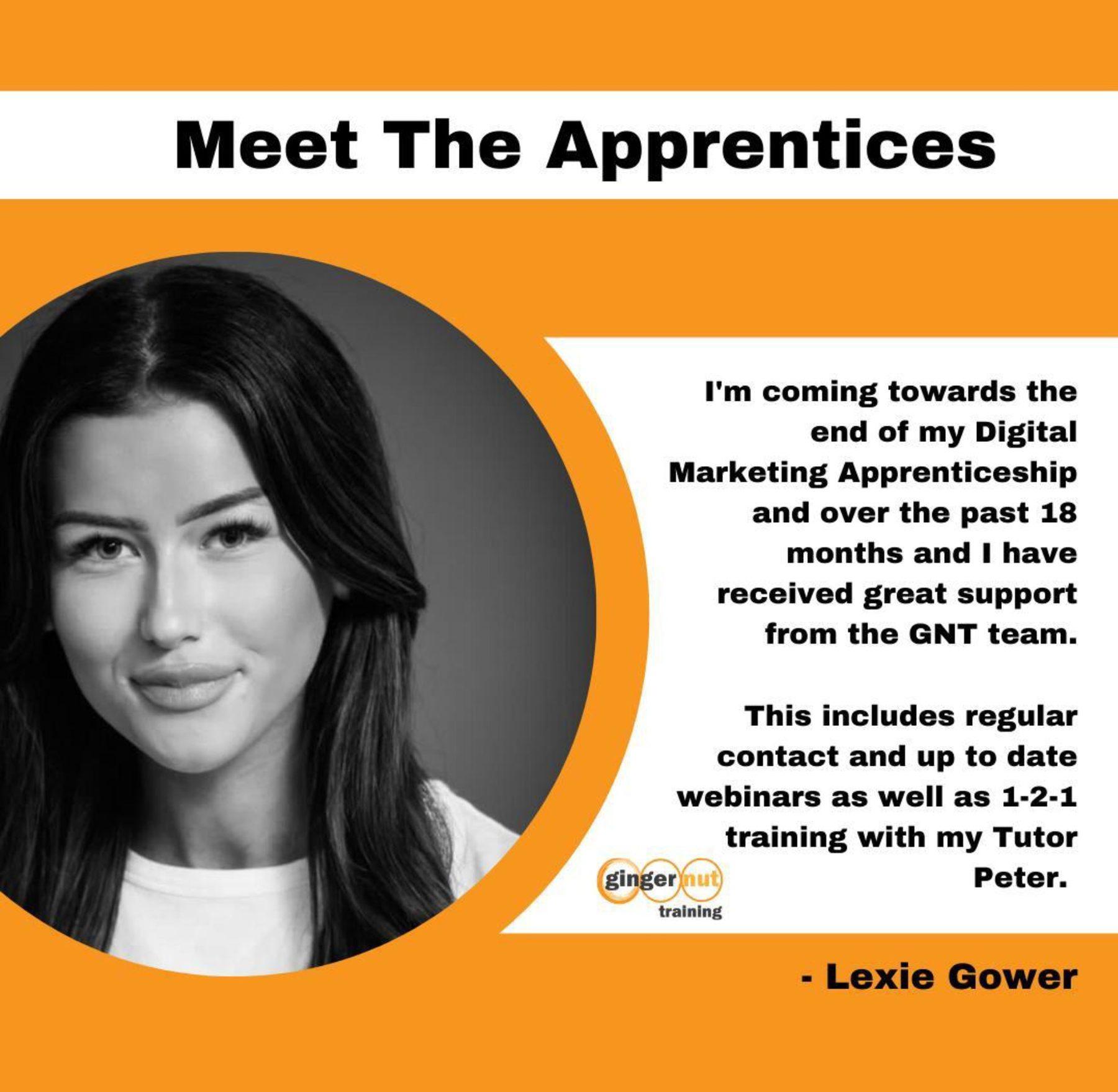 Company Image: Ginger Nut Training (Lexie)
