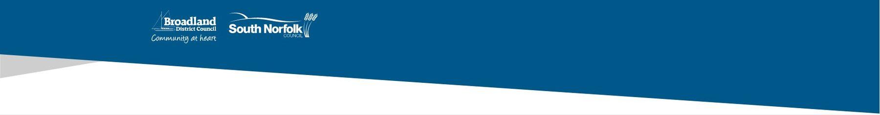 Organisation Image (South Norfolk & Broadland Councils: Worded Header)