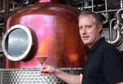 Company Image (Adnams: Brewing Equipment & Employee)